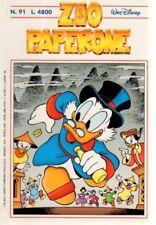 Fumetto ZIO PAPERONE MONDADORI numero 91