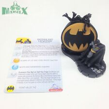 Heroclix The Brave and the Bold set Batman and Catwoman #100 LE figure w/card!