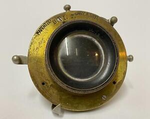 1897 Bausch & Lomb Optical CC Rapid Rectilinear Lens  - Antique Camera Lens