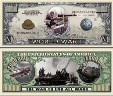 1ère GUERRE MONDIALE - BILLET DOLLAR US ! Commémoration 14 18 Verdun 11 Novembre