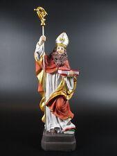 Heiliger Bischof Nikolaus,Poly Figur Religion,23 cm,Neu