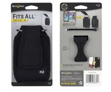 Niteize Fits All Vertical XL Phone Holster Case Belt Carry Black CCFXL-01-R3