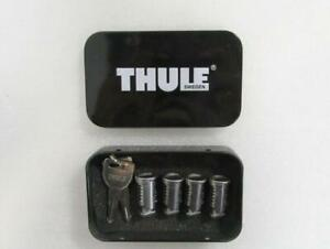 New THULE 544 One-Key System Cylinders Locks (4 Pack) w/ 2 Keys *No OEM Package*