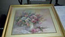 Lena Liu Rose Fairies Lithograph pencil signed & Numbered 27 28x24