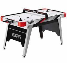 "ESPN Kids 60"" Air Powered Hockey Table Overhead Electronic Scorer Red/Black NEW"
