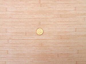 1:12 Maßstab Puppenhaus M Parkett Boden Papier A3 Zubehör 29.7cm x 43cm 528
