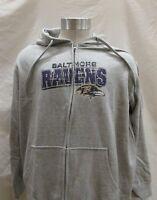 Baltimore Ravens WOMEN XL NFL TEAM APPAREL ZIP UP HOODIE   NFL A14