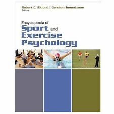 Encyclopedia of Sport and Exercise Psychology (2014, Hardcover)
