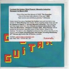 (AN771) Cymbals Eat Guitars, Wind Phoenix - DJ CD