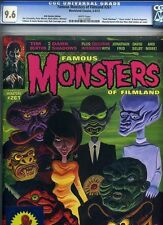 Famous Monsters of Filmland #261 CGC 9.6 NM+ Outer Limits w/ Sticker