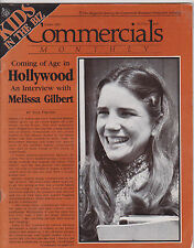 OCT 1980 COMMERCIALS MONTHLY tv radio magazine MELISSA GILBERT