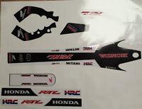 Montesa Cota 315R Honda RTL Style ,  Decal / Sticker Set Thick Moto-X Material