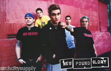 POSTER : MUSIC :PUNK : NEW FOUND GLORY - GROUP POSE -  FREE SHIP ! #6573 LW8 R