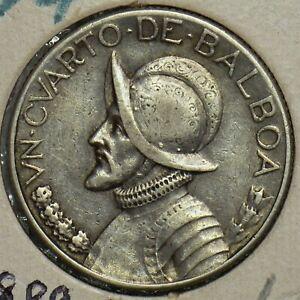 Panama 1930 1/4 Balboa 197445 combine shipping