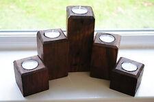 Handmade Vintage/Retro Candle & Tea Light Holders