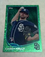 CASEY KELLY 2013 TOPPS EMERALD GREEN PARALLEL INSERT CARD # 111 A0926
