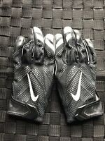Nike Vapor Knit Football Receiver Gloves Black White PGF409 010 SIZE XL NFL