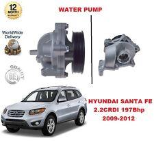 FOR HYUNDAI SANTA FE MK2 2.2 CRDI 2009-2012 197Bhp WATER PUMP