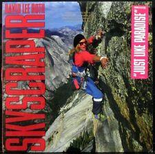 DAVID LEE ROTH 'Skyscraper' Near Mint Never played 1988 1st press Promo LP