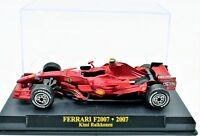 FERRARI FORMULA 1 UNO 1/43 F2007 F1 MODELLINO AUTO CAR MODEL DIECAST IXO ALTAYA