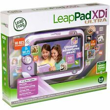 """NEW! LeapFrog LeapPad Ultra XDi Kids' 7"""" Learning Tablet, WiFi, Hi Res, PINK"""