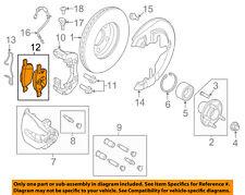 FORD OEM 12-14 Focus Brake-Front Pads CV6Z2001A