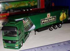 Micro Metal Schuco HO 1/87 Camion Semi remorque Mercedes-benz Actros Panalpina