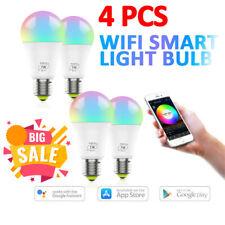 7W Wifi E27 Smart LED Bulbs LED Light App Control Alexa Google RGBColor Changing