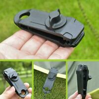 10Pcs Fixed Plastic Clip For Outdoor Tent X2D9