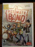 ULTIMATE BAND - WII - COMPLETE W/ MANUAL - FREE S/H -(B16A)