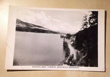 Canada BC Woods Lake Vernon - Kelowna Highway Made in Canada Vintage Postcard