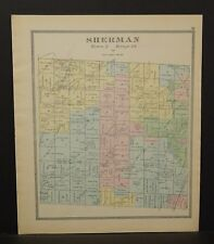 Ohio Huron County Sherman Township 1891  !Y14#84