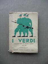 I Verdi Cinquanta Anni Storia Alpini 1872 1922 Esercito Militaria Angoletta Roma