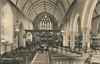 ST. MAWGAN St. Mawgan Church Postcard nr Newquay CORNWALL Hartnoll's Series