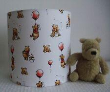 Winnie the Pooh -Handmade Nursery table Lampshade 20cm Drum