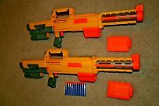 Nerf N-Strike Deploy CS-6 with Laser Light 2 Magazines and + 10 Darts Gun LOT 2