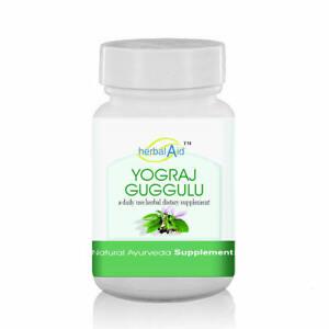 Herbal Aid Yograj Gugulu 60 Capsules 500mg