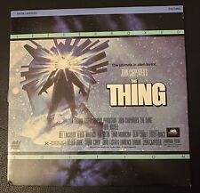 The Thing (1982) John Carpenter NTSC Laserdisc Letterbox Edition Rare In UK