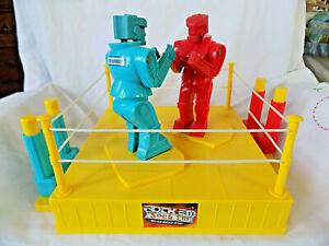 Rock Em Sock Em Robots Boxing Game 2001 Vintage Toy Excellent Condition