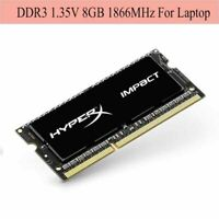 USA For HyperX Impact 8GB (1x 8GB) 1866MHz DDR3L PC3L-14900 SO-DIMM Laptop ARMG