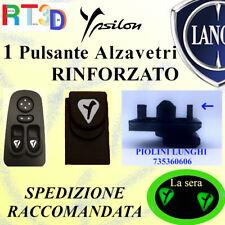Pulsante pulsantiera LANCIA Y 735360606 alzavetri finestrini LUCE pulsanti