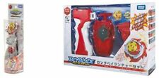 New Takara Tomy Beyblade BURST B-105 Z Achilles & B-123 Long Bey Launcher Set