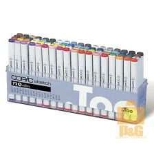 USA TOO COPIC SKETCH Set A 72 color 72A PEN SET Artists Markers Anime Comic