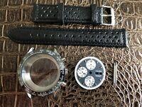 Chronograph Calibre Uhrenkit für ETA Valjoux 7750 SWISS MADE Werk - Uhrengehäuse