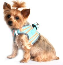 American River Choke Free Dog Harness Neon Sport Collection Blue Size XS Premium