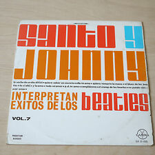 Santo  y Johnny - Exitos de los Beatles Vol. 7 GX 01-095  ( Beatles Covers )