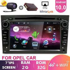 Android 10 Autoradio DVD Navi für Opel Zafira B Astra H Corsa Vivaro Vectra+CAM