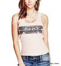 GUESS Jeans Sequin  Tank T-shirt Tee T shirt Top Blouse NWT XS,S,M,L,XL