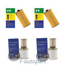 2 pcs Diesel Oil & Fuel Filter Kit FD4616 FL2016 For 03-07 Ford 6.0L Powerstroke