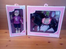 Lori January Riding Doll & Black Irish Draught  Horse Brand new in boxes 301